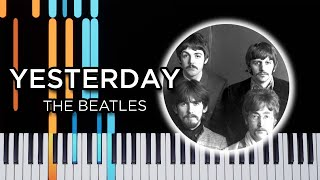 Yesterday (The Beatles) - Easy Piano Tutorial