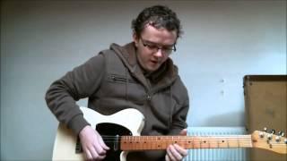 Blues Guitar Licks - 2 Must Know Classic Slow Blues Licks BB King SRV Style