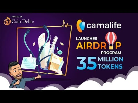 Airdrop de $15 DÓLARES Carna Life