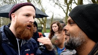 P1 - Jewish Afterlife!? Hashim Vs Jewish Speaker | Speakers Corner | Hyde Park