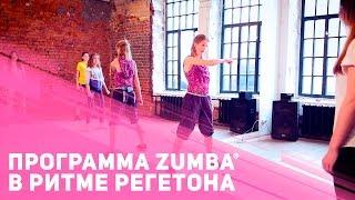 Танцевальная фитнес программа  Zumba® в ритме реггетона [Фитнес Подруга]