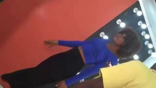 Lord Paper (Awurama) - Funny Accident - knockout by female dancer