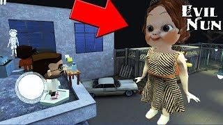 Обнова Монахини - Гиганская Кукла ходит по школе,разработчики залезли на крышу