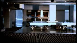 AMPS – координатно-пробивной пресс сугловыми ножницами