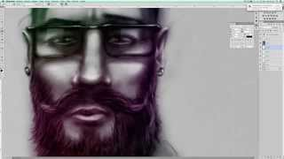Illustration Hipster - Speed Art By DLS