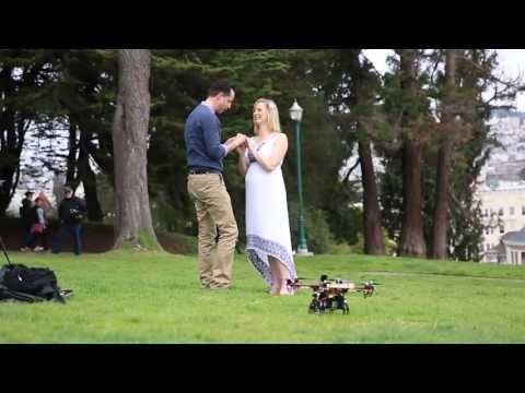 This Guy Proposed To His Girlfriend With A Drone