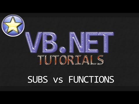 VB.NET Beginner Tutorial – Subs vs Functions & Building a Real-Time Calculator (Visual Basic .NET)