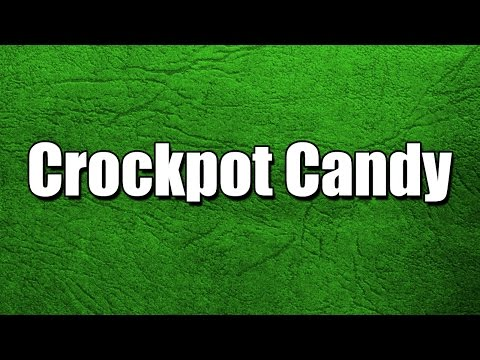 Crockpot Candy - MY3 FOODS - EASY TO LEARN