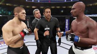 Khabib vs. Kobe Bryant (EA Sports UFC 2) - Champion Fight ☝️🦅
