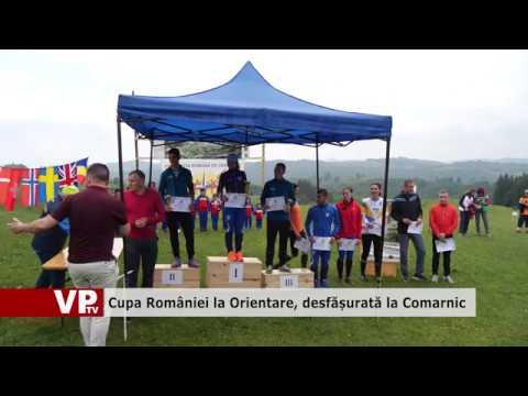 Cupa României la Orientare, desfășurată la Comarnic