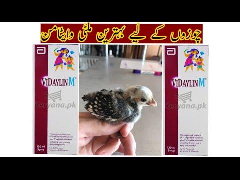 , title : 'VIDAYLINM Benifits & use in chicken chicks [Best Multi vitamin for Birds]