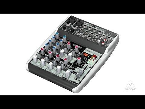 XEYNX QX1002USB Small Format Mixer & USB Audio Interface image 1