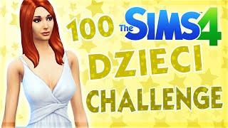 THE SIMS 4 CHALLENGE 100 DZIECI #42 WEEKEND W GRANITOWYCH KASKADACH
