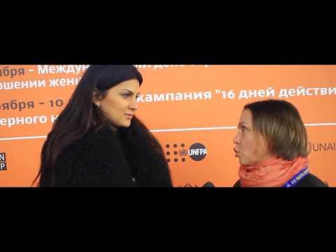 Белорусские футболисты  приняли участие в акции ЮНФПА против насилия в отношении девочек и женщин
