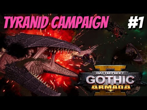 Battlefleet Gothic: Armada 2 | Tyranid Campaign #1 - Max Difficulty | Pretty in Pink