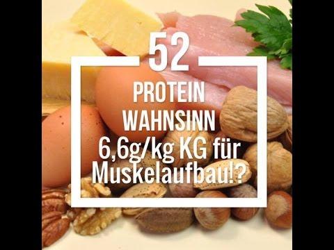 Built by Science #52 - Protein Wahnsinn: 6,6g pro kg Körpergewicht für Muskelaufbau?