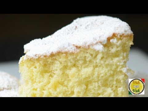 Video Quick Fatless Sponge Cake  - By Vahchef @ vahrehvah.com