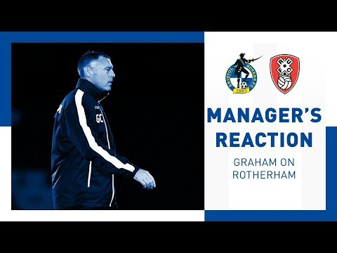 Match Reaction - Graham Coughlan - Rotherham United