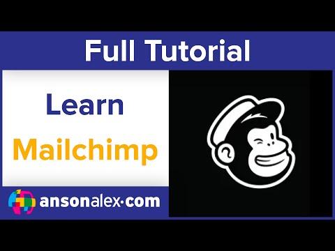MailChimp Tutorial 2020 - Beginner's Training Guide - YouTube