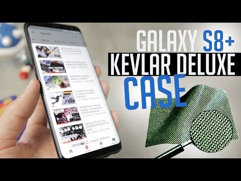 S8+ Deluxe KEVLAR CASE (Pitaka Aramid Hülle)