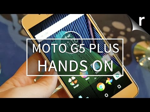 Moto G5 Plus hands-on review: More metal, more battery, more... camera?