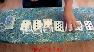Bored Games: HOW TO PLAY KLONDIKE