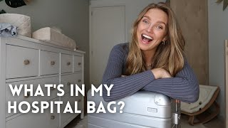 WHAT'S IN MY HOSPITAL BAG? 👶| Romee Strijd