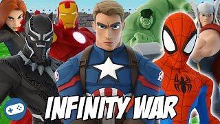 Avengers Infinity War Disney Infinity Toy Box Fun Gameplay Compilation
