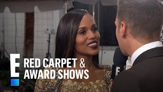 Why Kerry Washington Took On Confirmation  E Live From The Red Carpet