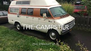 The Campster, A 1977 Dodge Campervan Restoration Project