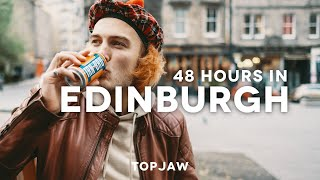 48 HOURS IN EDINBURGH - Ft Speakeasy Bars, Freaky Orange Drink And Best Brunches