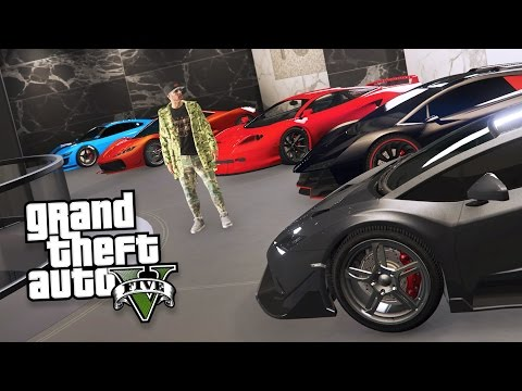 GTA 5 IMPORT/EXPORT DLC - EXPORTING RARE CAR COLLECTIONS & MAKING MONEY!! (GTA 5 Import/Export)