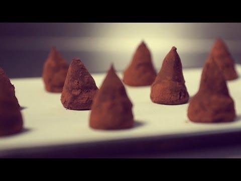 Zartbitter Trüffel Pralinen | Rezepte aus der Berliner Kaffeerösterei Manufaktur