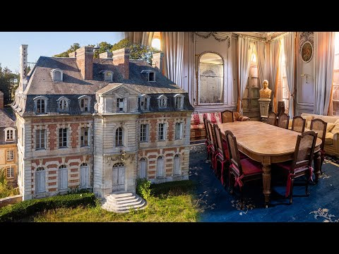 Verlaten 17e-eeuws Frans kasteel van een politicus