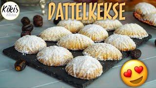 Arabische Dattelkekse / Mamoul Kekse mit Dattelfüllung / Kurban Bayrami