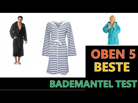 Beste Bademantel Test 2020