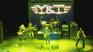 Y&T - Rescue Me - with Frank Hannon from Tesla - Monsters of Rock Cruise 2018