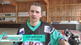 preview picture of video 'Fastbreakers Winnenden vs.Roadrunners BFH - RLSW 15.6.2013'