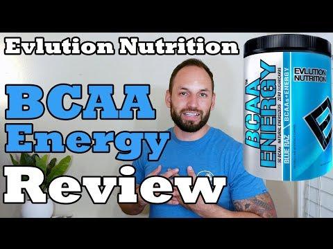 EVL BCAA Energy Supplement Evlution Nutrition  Supplement Review