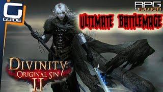 DIVINITY ORIGINAL SIN 2 - GOD OF WAR BUILD (Lone Wolf