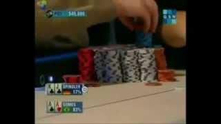 Флоп мечты, покер, игра на 15 милионов фишек