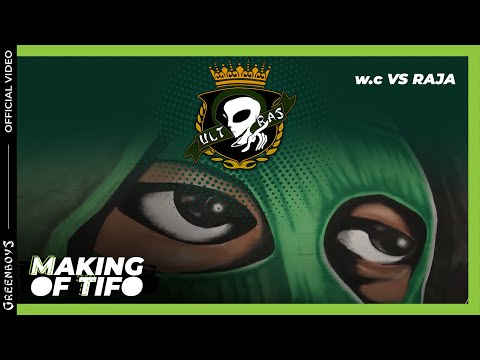 GREEN BOYS 05 - w.c vs Raja.C.A - Making of Tifo
