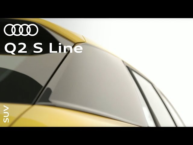 The new Audi Q2 S line: #SUV? #Coupé? #allroad?