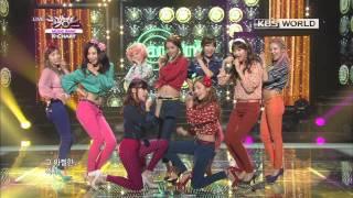[Music Bank K-Chart] 1st Week of January & Girls' Generation - Dancing Queen (2013.01.04)