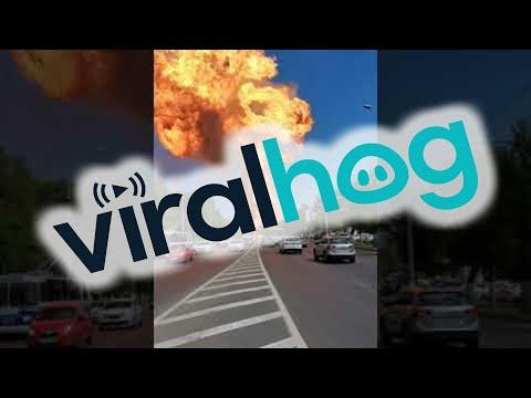 Ρωσία: Ισχυρή έκρηξη σε πρατήριο καυσίμων