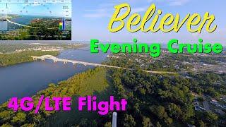 MakeFlyEasy Believer - ReelSteady Go Test - 4G/LTE Flight