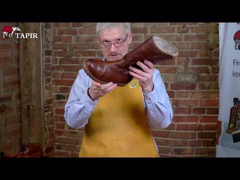Schuhpflege von braunen Winterstiefeln | Tapir Wachswaren