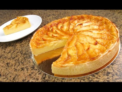 Prepara La Torta De Manzana Más Fácil