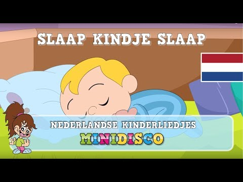 Kinderliedjes | Tekenfilm | Slaapliedje | SLAAP KINDJE SLAAP | Minidisco
