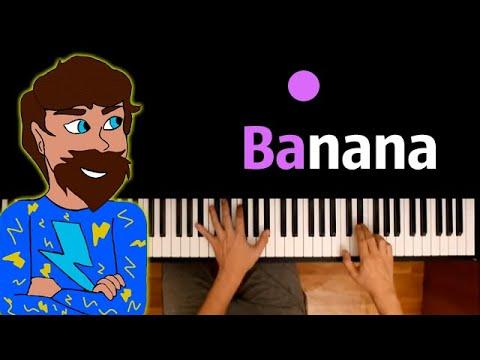 FixPlay - BANANA ● караоке | PIANO_KARAOKE ● ᴴᴰ + НОТЫ & MIDI